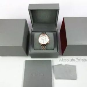 Michele Accessories - Michele Rose Gold & Silver Sport Sail Watch